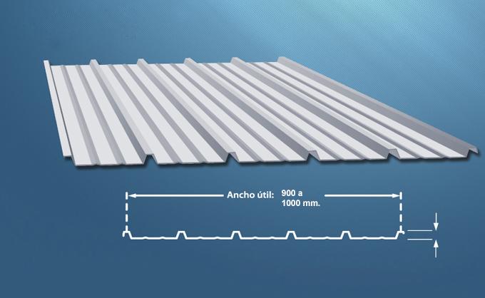 Allcon soluciones for Revestimiento exterior zinc